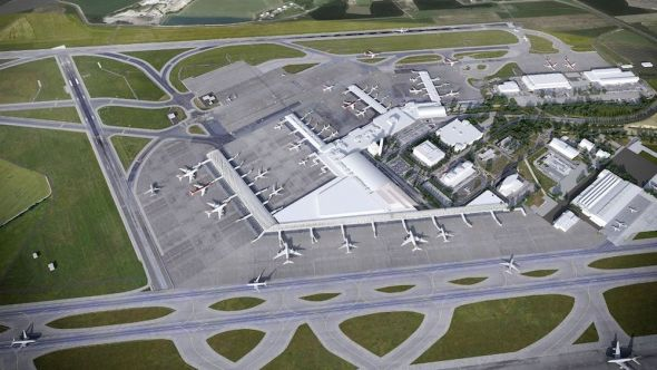 plánovaný rozvoj letiště praha ruzyně