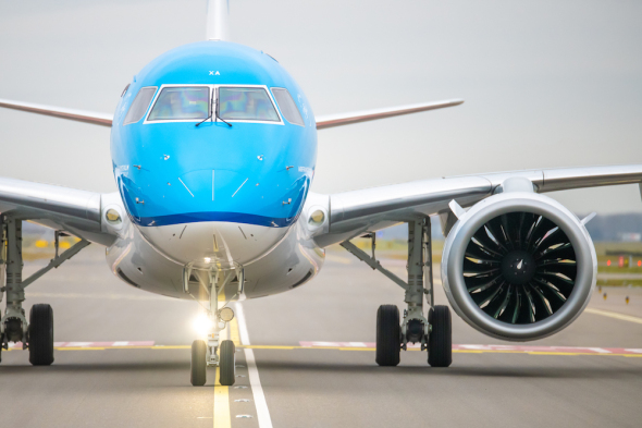 KLM Embraer 195-E2