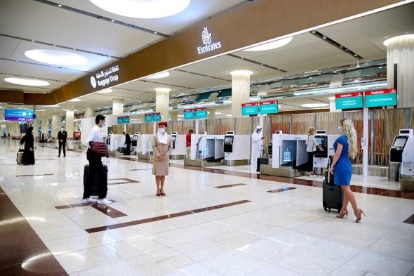 Samoobslužné a odbavovací kiosky Emirates 1