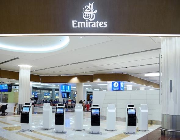 Samoobslužné a odbavovací kiosky Emirates 2