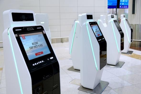 Samoobslužné a odbavovací kiosky Emirates 3