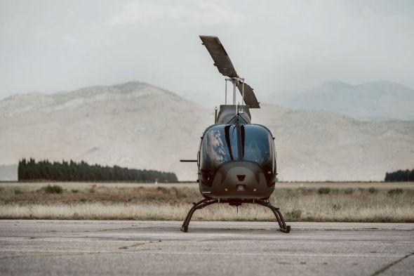 vrtulník Bell 505 Jamaica Defence Forces