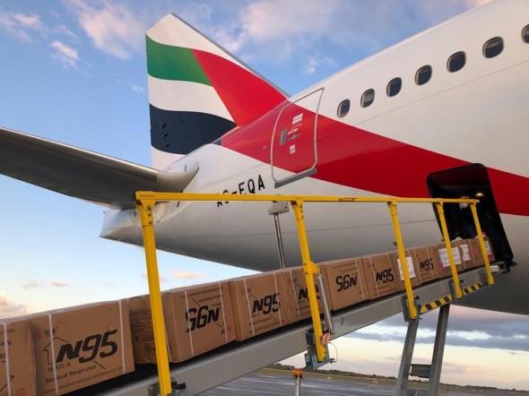 Boeingu 777-300ER Emirates cargo
