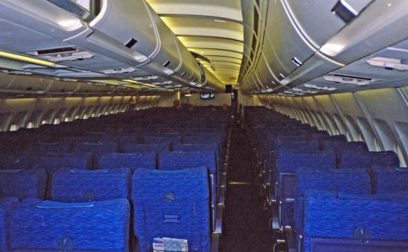 Ekonomická třída v Airbusu A 310 ČSA
