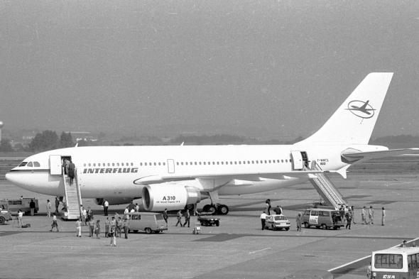 Interflug Airbus A310-300 F-WWCL