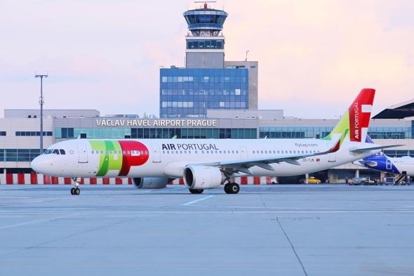 Airbus A321-251N TAP Air Portugal CS - TJN Letiště Praha