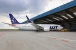 CSAT LOT Boeing B737 MAX Prague Airport