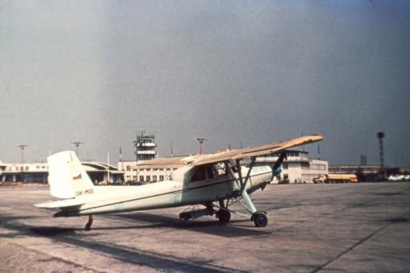 L 60 Brigadýr OK-MIB letiště Ruzyně
