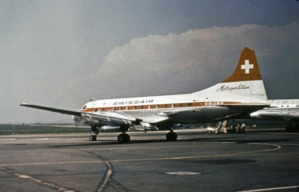 Swissair Convair HB - LMK