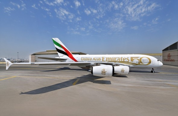 Airbus A380 A6EVG Emirates