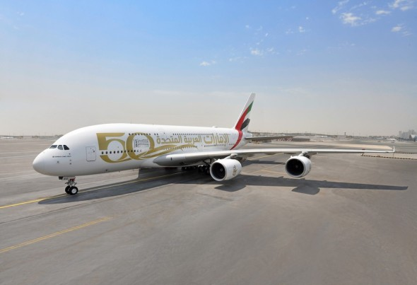 Airbus A380 Emirates A6EVG