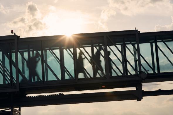 Letiště Praha nástupní most