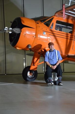 WACO YKS-6 a pilot Pavel Valenta