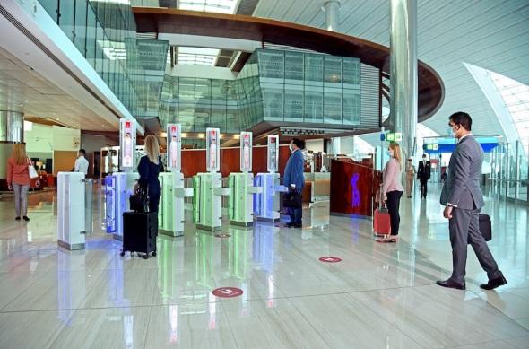Emirates biometrics
