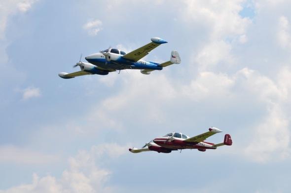 Slet československých letadel 2021 L 200 Morava