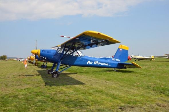 Slet československých letadel 2021 L 60 Brigadýr