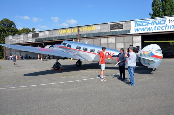 Slet československých letadel 2021 Lockheed Electra L 10A