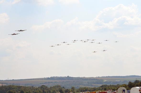 Slet československých letadel 2021 letová skupina